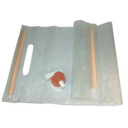 Water Carrier Roll-Up 10L Clear